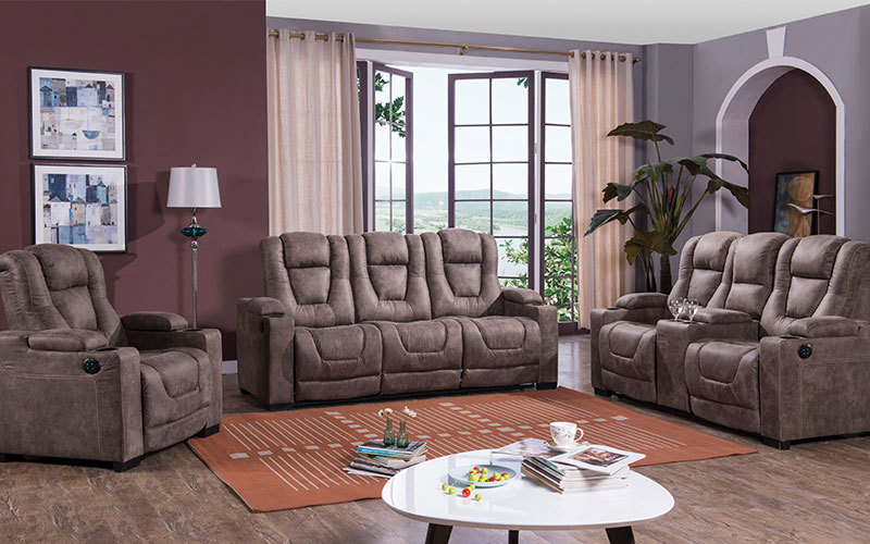 Modern Fabric Home Theater Seating Sofa Wholesale