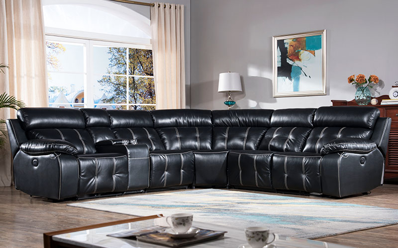 Alison living room recliner with led for home-1