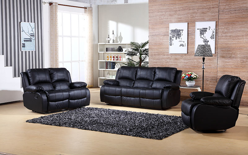 Home Reclining Manual Living Room Furniture Recliner Manufacture Supply