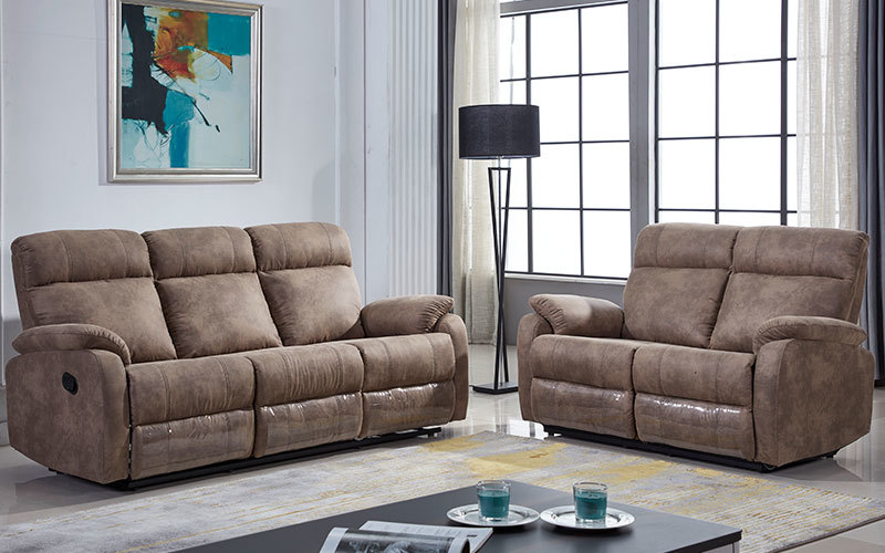 Cheap Contemporary Living Room Furniture Recliner Sofa Set Supply