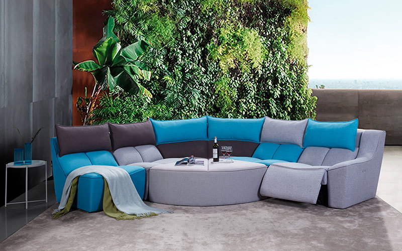 Contemporary Electric Living Room Recliner Sofa Wholesale Supply