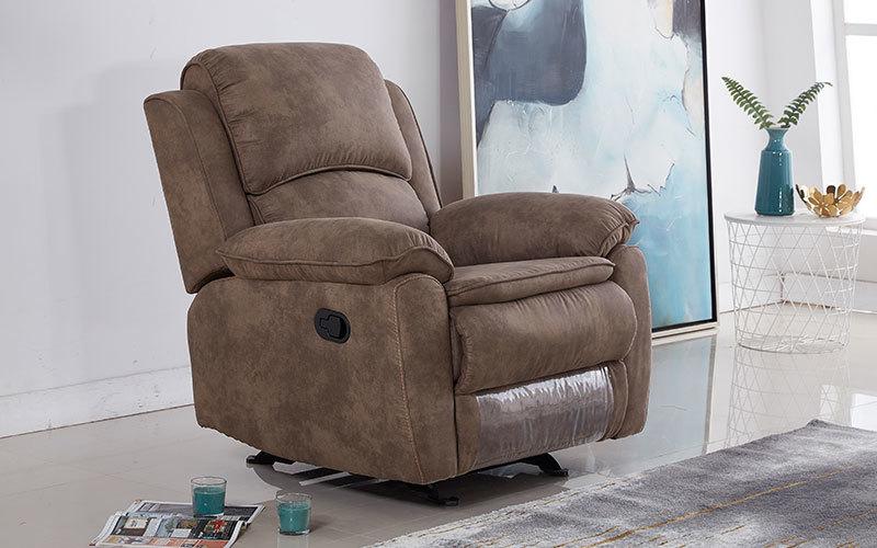 Latest Single Fabric Rocker Glider Recliner Chair Wholesale