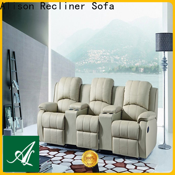 Alison latest best home theater recliners with cup holders for hotel