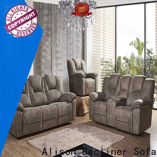 Alison new living room furniture sofa with led for home