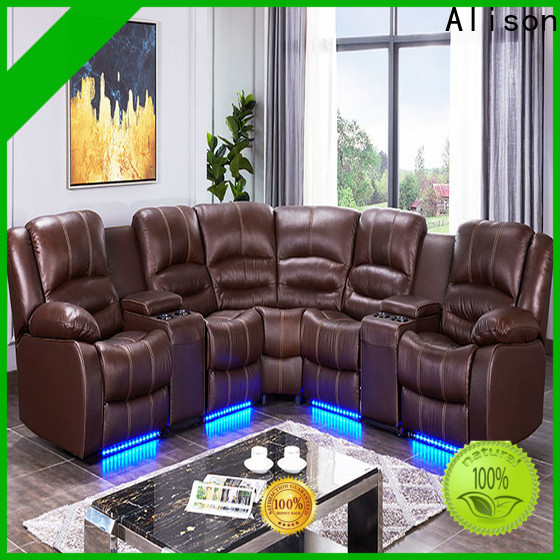 american living room sofa set with led for business