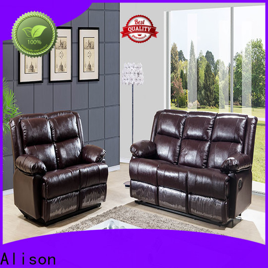 american living room furniture recliners with console for apartment