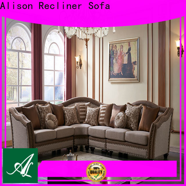 Alison high-quality living room sofa set manufacturers for apartment