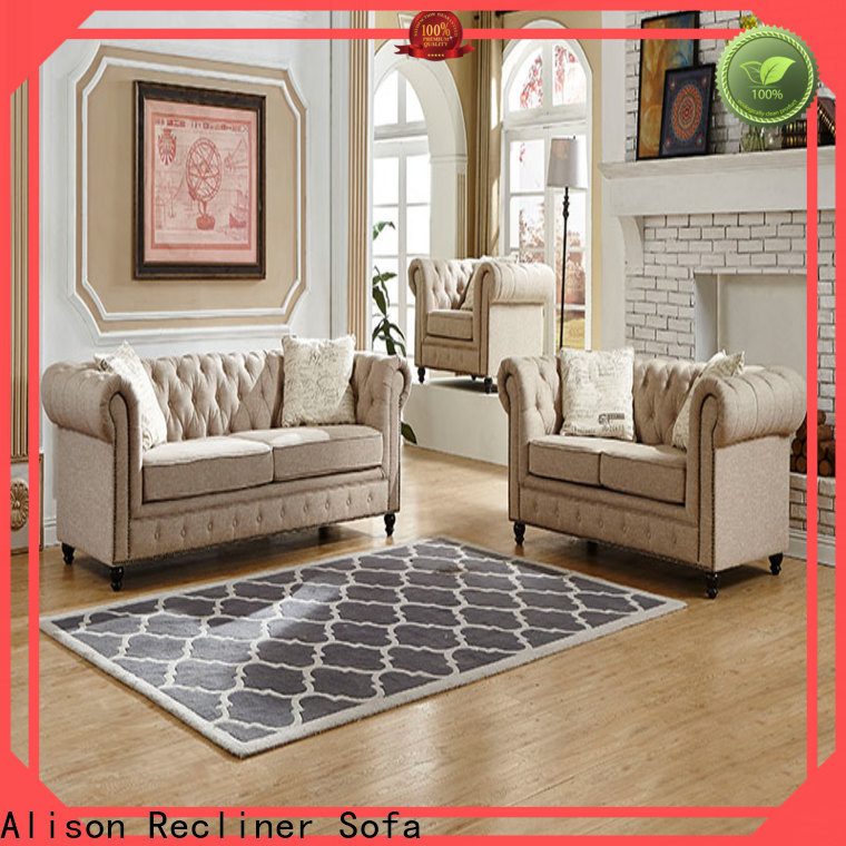 Alison american living room furniture sofa suppliers for business