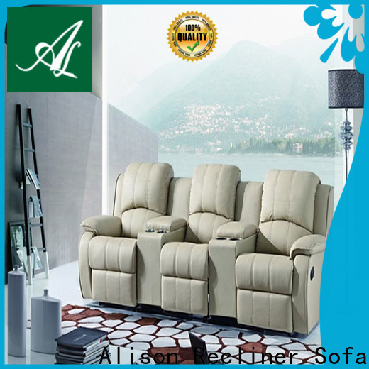 Alison top grain home cinema recliners suppliers for apartment