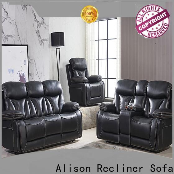 Alison custom living room sofa set with led for business
