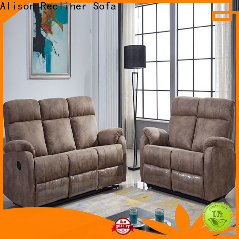 Alison chesterfield living room recliner factory for home