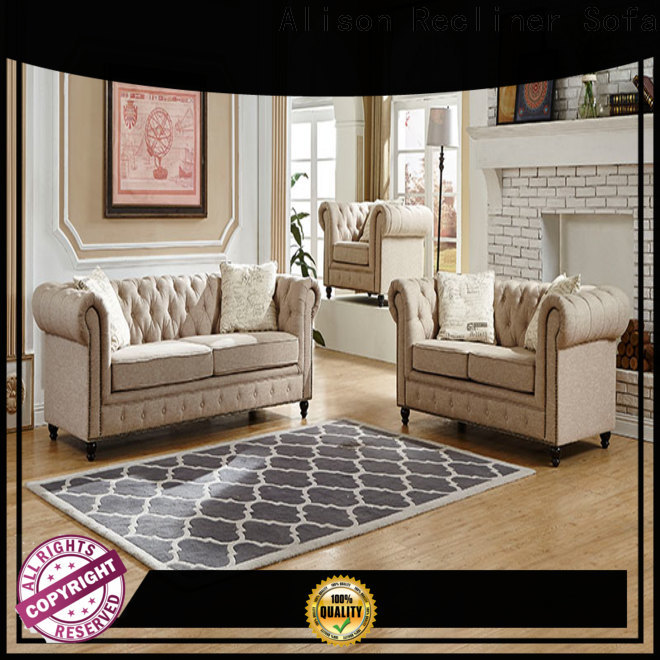 Alison manual living room sofa set factory for home