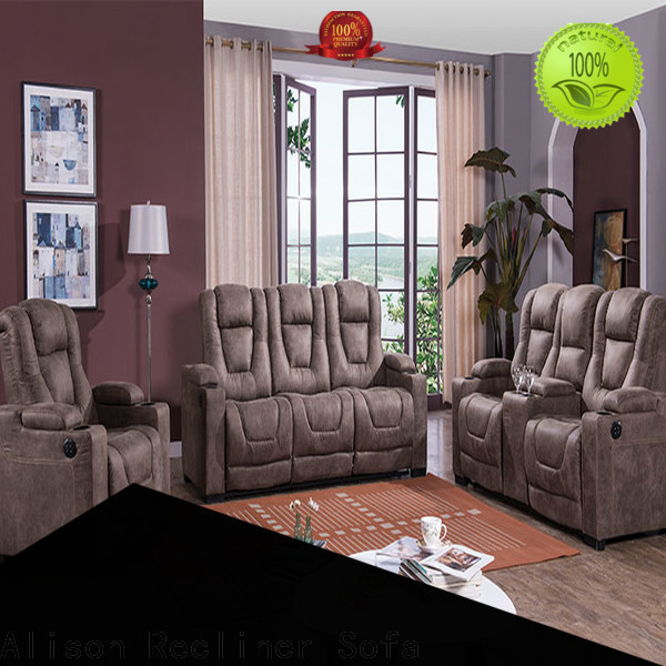Alison top home theater sofa company for apartment
