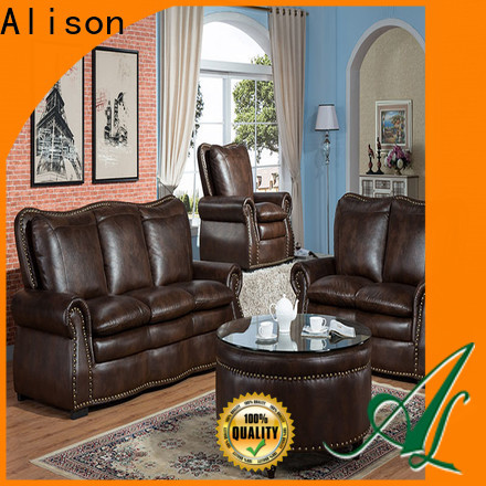 new living room furniture sofa with console for home