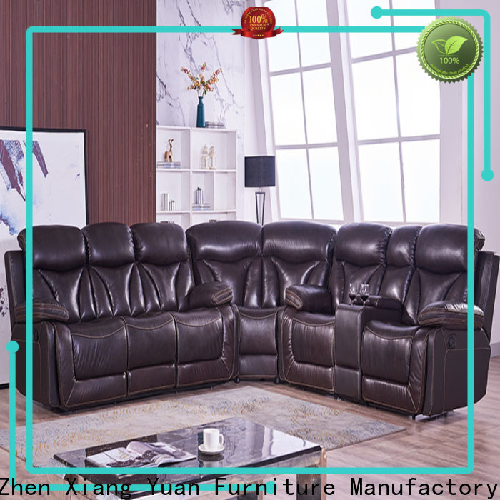 synthetic leather living room furniture sofa suppliers for hotel
