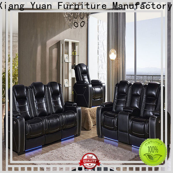Alison living room sofa set with led for hotel