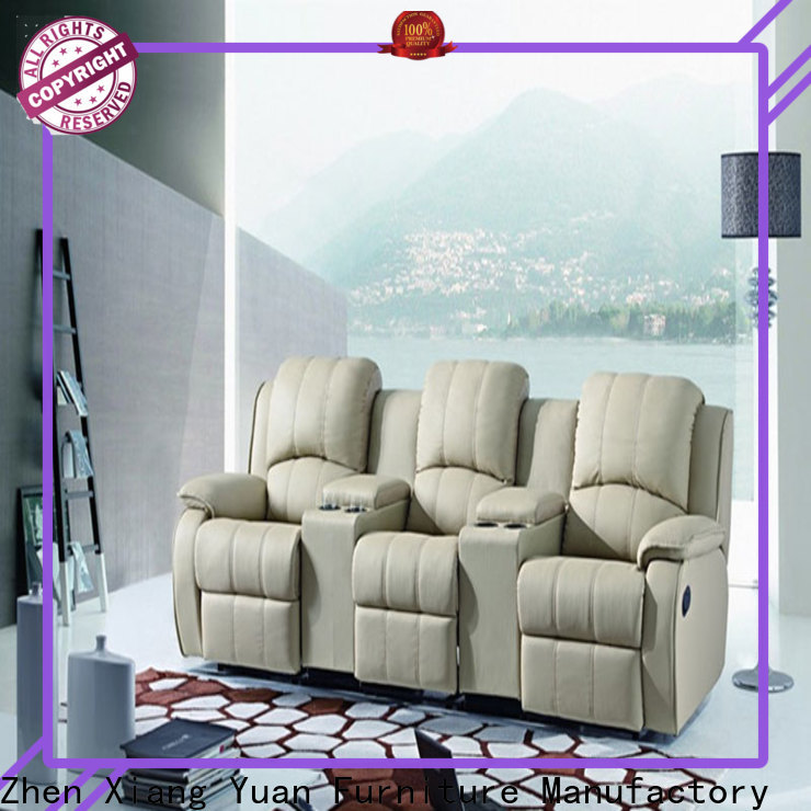 Alison beige best home theater recliners factory for apartment