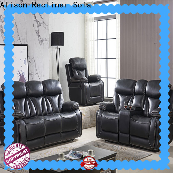 Alison new living room furniture recliners supply for hotel