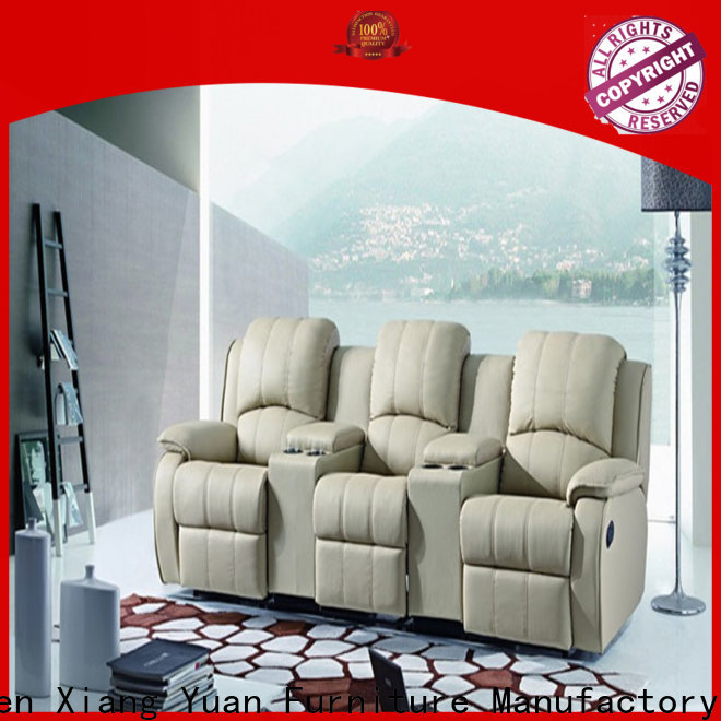 high-quality home theater recliners factory for apartment
