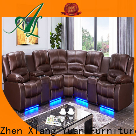 Alison living room recliner with led for hotel