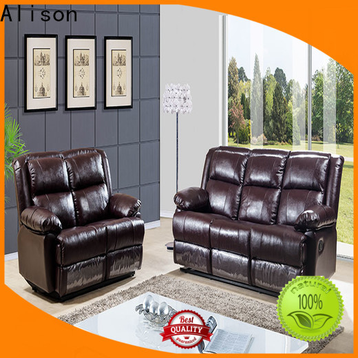 synthetic leather living room furniture sofa suppliers for apartment