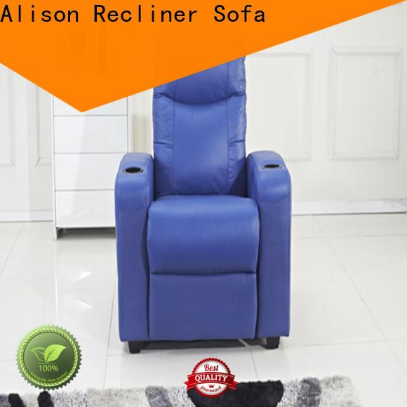 Alison blue home theater sofa company for hotel