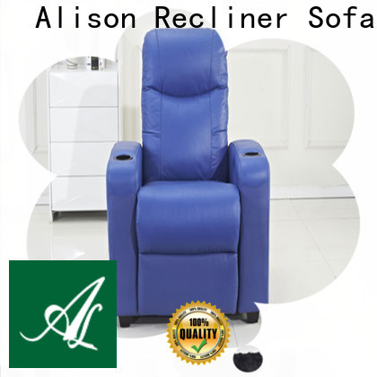 Alison wholesale home theater sofa with console for business