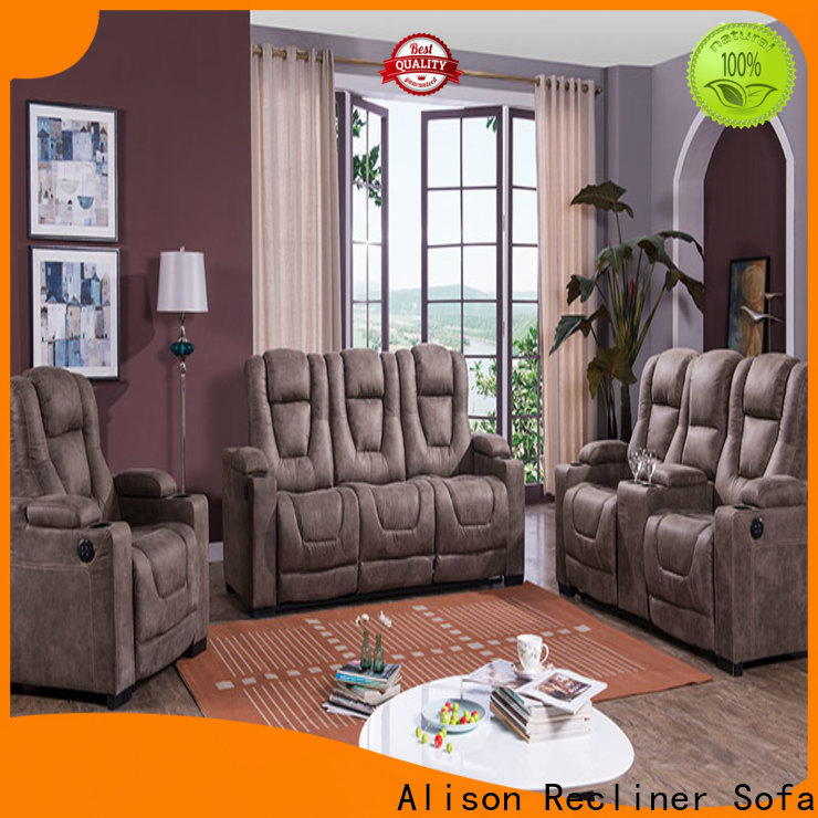 Alison home theater sofa suppliers for business
