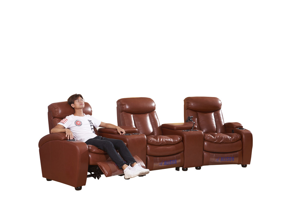 Living room cinema chairs 3seater
