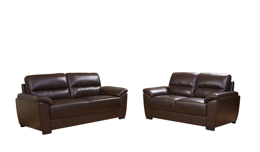 Modern leather living room sofas